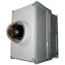 Уличная управляемая PTZ-  IP-камера с ИБП, охранно-пожарной сигнализацией и Wi-Fi роутером от -45 до +50