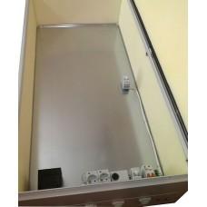 Термошкаф 1200х750х300 утепленный с обогревом уличный для электрооборудования, недорогой, бюджетный