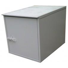 Антивандальный термошкаф 600х600х800 12U утепленный с обогревом. Опции: Вентиляция, Кондиционер