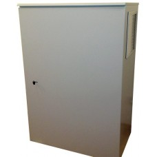 Термошкаф 1000х800х400 с вентиляцией* и обогревом, металлический уличный термошкаф