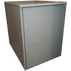 Антивандальный термошкаф 1000х600х800 21Uутепленный с автоматическим отоплением, опционально вентиляция/кондиционер