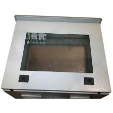 Термокожух с окном 500х400х250 с обогревом и вентиляцией для монитора