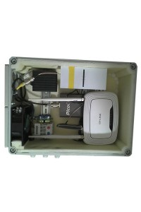 Пример использования радиопрозрачных термобоксов для размещения радиоэлектроники.
