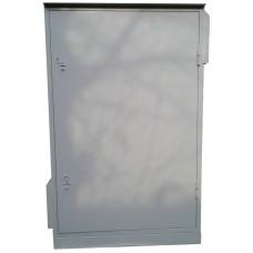 Антивандальный уличный термошкаф 2000х1000х600 42U утепленный с обогревом, вентиляция или кондиционер - опционально