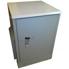 Антивандальный термошкаф 800х600х600 16U уличный взломостойкий термошкаф с отоплением и вентиляцией либо кондиционером