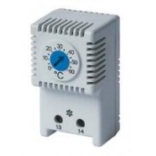 Термостат, диапазон температур для NO контакта: 0-60°C; для вентилятора
