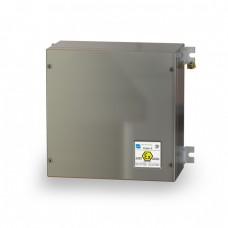 Взрывозащищенный термошкаф 300х300х150 мм для клемм класса взрывозащиты Ex e и Ex tb, нержавеющая сталь AISI 316L
