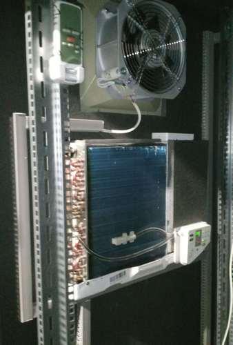 Кондиционер и вентиляция в термошкафу