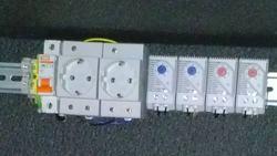 Задублированные термостаты в термошкафу