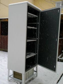Подвесной кондиционер для телекоммуникационного шкафа