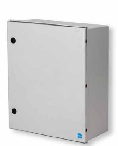 Пластиковый термошкаф 800х600х300 мм