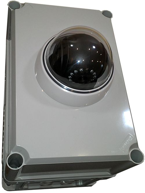 пластиковый термобокс с камерой