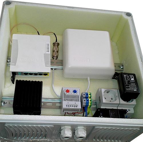 термобокс для радиооборудования