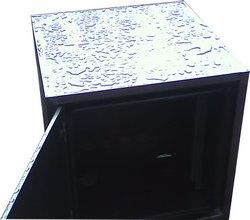 Корпус антивандального шкафа из оцинкованной стали