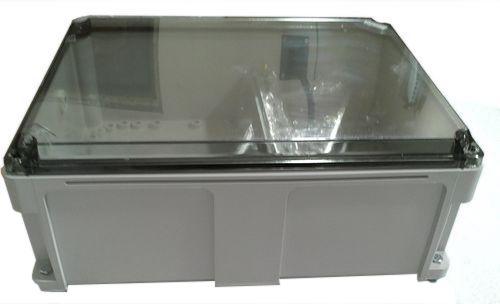термобокс с прозрачной крышкой для радиооборудования