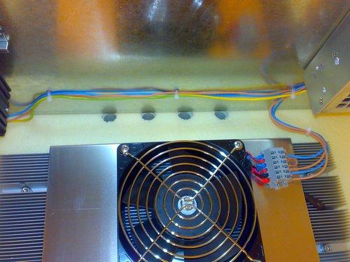 термоэлектрический кондиционер для термошкафа