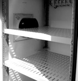 Внутреннее пространство термошкафа