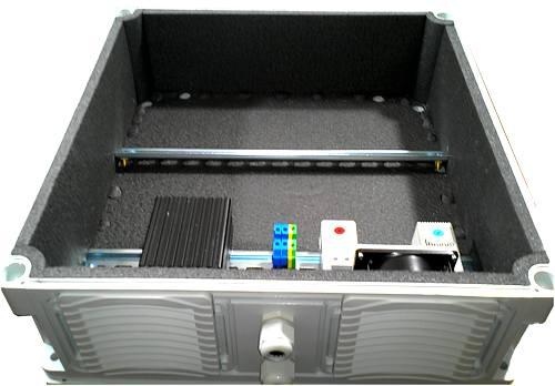 термобокс ENSTO с отоплением и вентиляцией