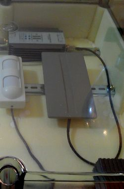 Оборудование в пластиковом термобоксе (термоконтейнере)