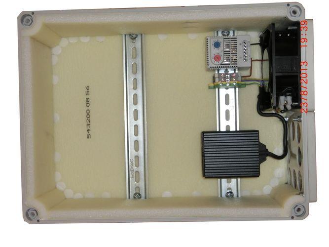 термоконтейнер с вентилятором