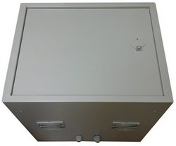 Антивандальный термошкаф 9U глубиной 600 мм