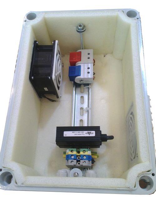Отопление и вентиляция пластикового термобокса