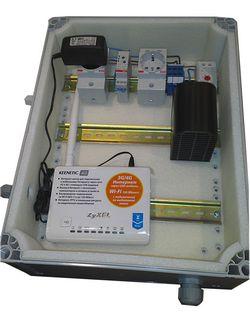термоконтейнер для установки 3G/4G модема и роутера на улице