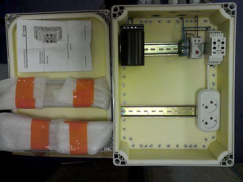пластиковый термоконтейнер для радиооборудования