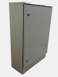 Термошкаф с защитным козырьком и цоколем