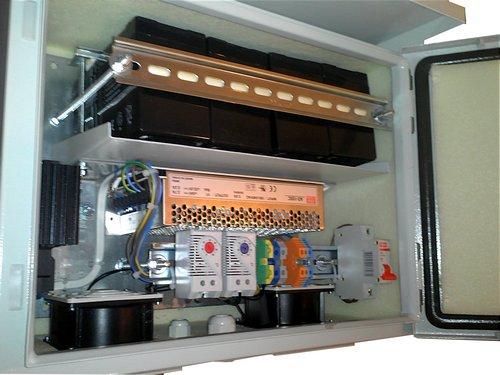 Источник Бесперебойного Питания 48В/150Вт/7Ач в уличном корпусе Outdoor до -60 градусов